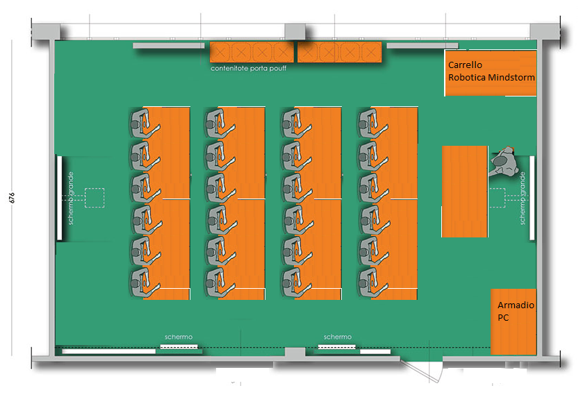 Layout LEZIONE Frontale