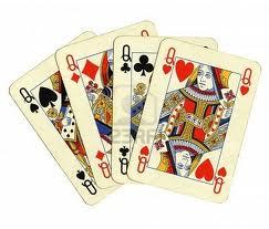 Quattro regine ha il mio mazzo di carte pierpaolo simonini for Progetta il mio mazzo